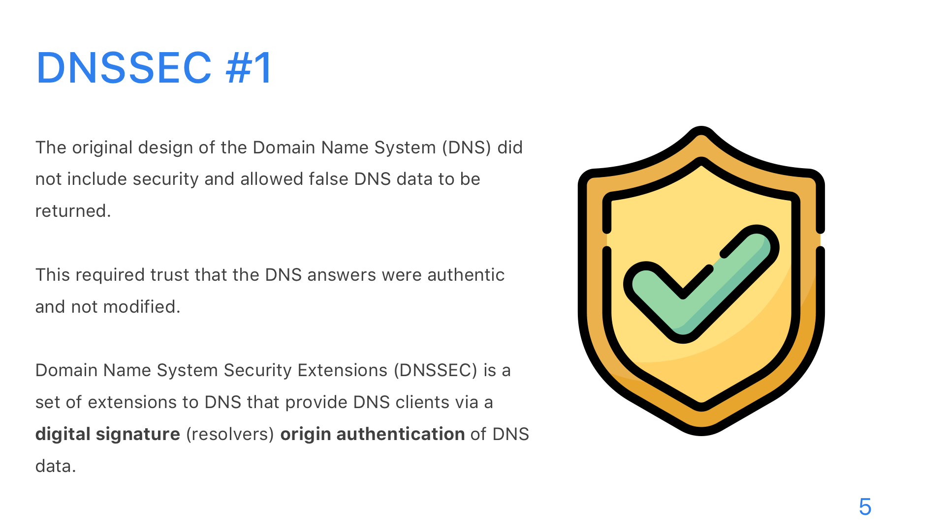 DNS: DoT, DoH, and DoQ - Slide 5