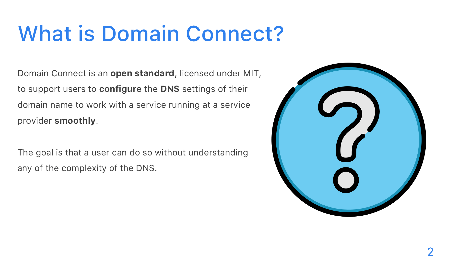 Domain Connect - Slide 2