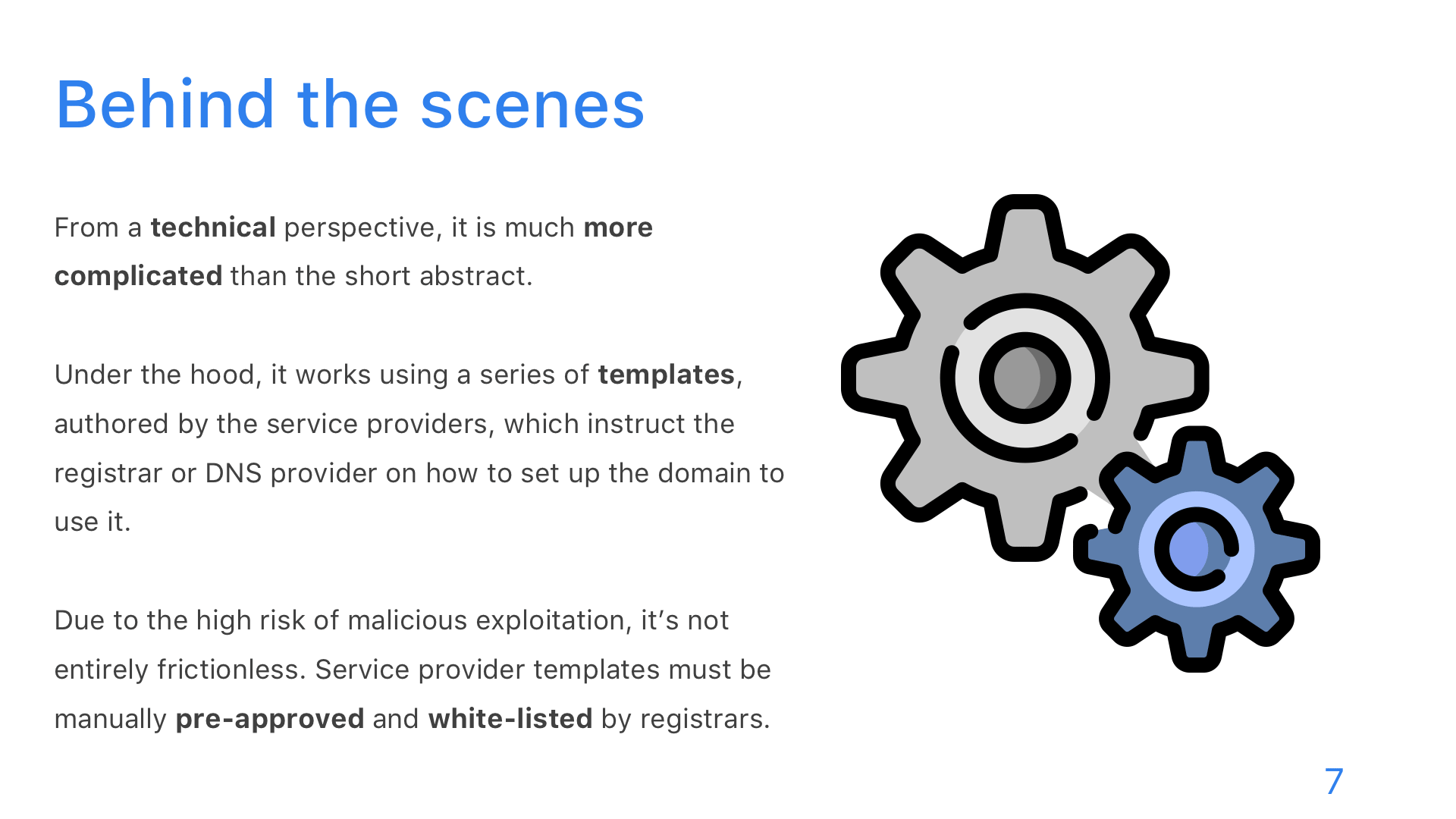 Domain Connect - Slide 7