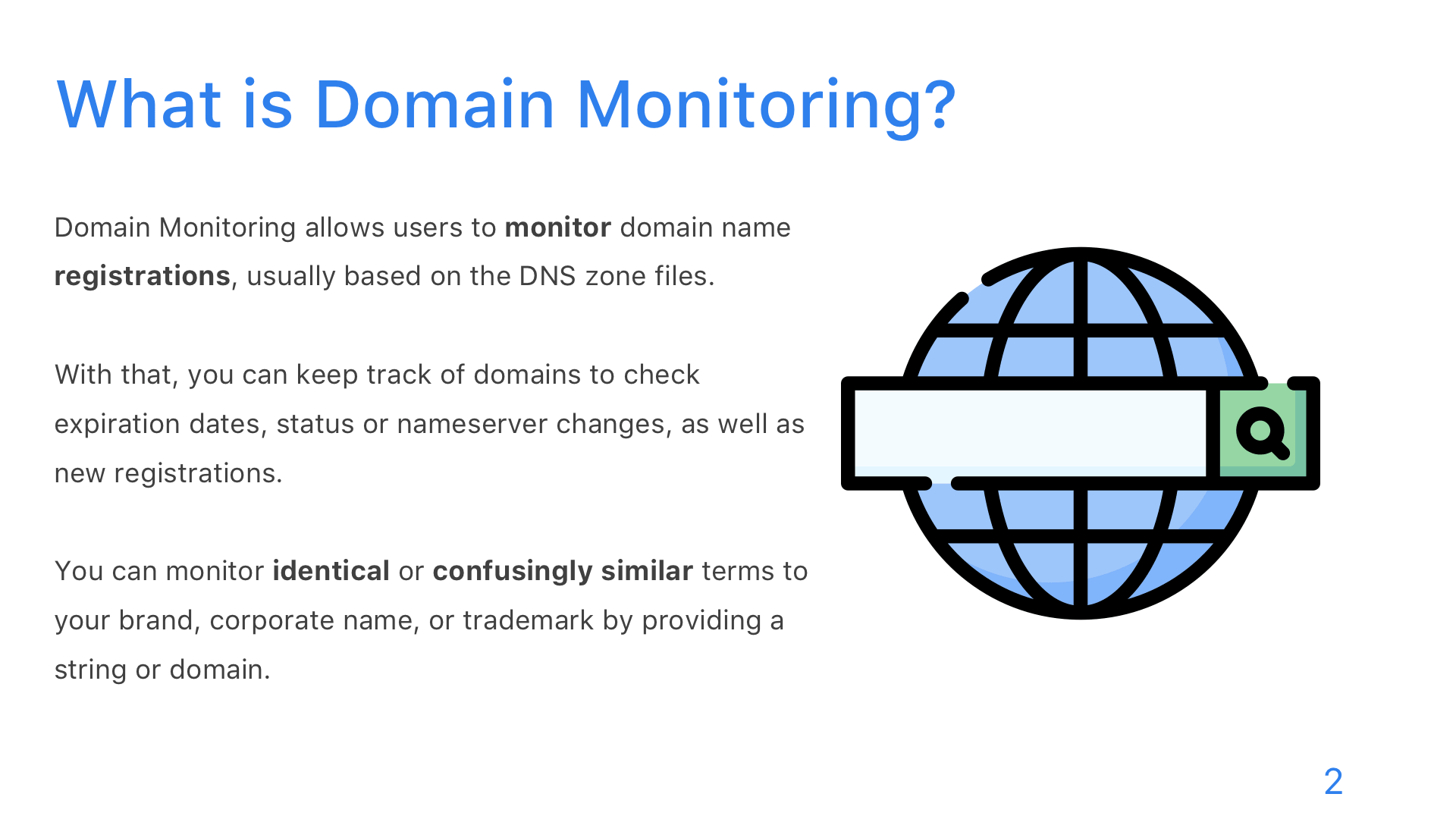 Domain Monitoring - Slide 2